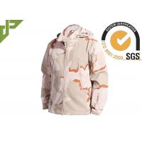 Buy cheap 3 Color Desert Men Tactical Military Winter Fleece Hooded Outdoor Jacket For Camouflage from Wholesalers