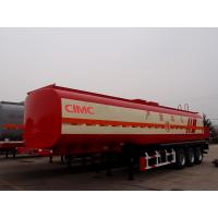 Buy cheap optional dimension 14 ton axle tire 5mm tank body fuel oil tanker trailer from Wholesalers