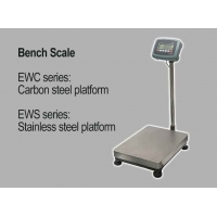China LCD Display Weighing Bench Scale with Plastic Weighing Indicator, Steel Platform Scale factory