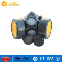 China High Quality Safety Gas Mask Replaceable Filter Dust Gas Mask factory