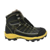China Custom Size Waterproof Safety Boots Latest Style With Artificial Wool factory