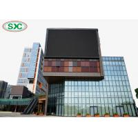 Buy cheap outdoor full color p6 led screen module size 192x192mm wall-mounting fixed led display from wholesalers