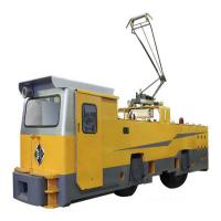Buy cheap 55 ton electric locomotive for big mines or tunneling Constitution haulage from Wholesalers