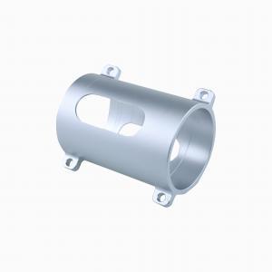 China Aluminum Alloy Hex Cnc Turned Components Black Oxide Coating factory