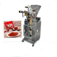 Buy cheap Chilli Powder Sachet Packaging Machine Advanced PLC Control System from Wholesalers