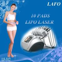Buy cheap 10 pads professional 650nm diode laser zerona lipo laser slimming machine from Wholesalers
