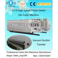 China Auto Slotting Flexo Printer Slotter Die Cutter Machine For Corrugate Board factory