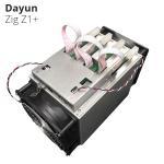 Buy cheap Lyra2Rev2 Algorithm 7.25G/S 1200W DAYUN Z1+ Zig Z1+ Miner Asic Mining Machine from Wholesalers
