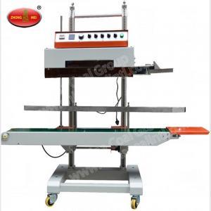 China Nitrogen Sealing Machine DBF-1000 Continuous Cellophane Band Sealer with Nitrogen Flushing factory