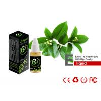 Buy cheap 10ML Mint Flavor E Cigarette Liquid Juice , No Toxic Drug - Free from Wholesalers