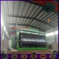 China ZWJ1600 super heavy stainless steel wire mesh weaving machine factory