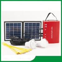Buy cheap Solar lighting kits with FM radio, mini solar lighting system with phone charger, FM radio for cheap selling from Wholesalers