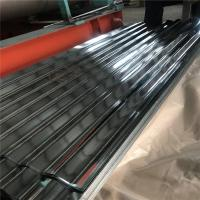 China 0.15-1.2mm galvanized roofing sheet 3 meters length with package for warehouse factory