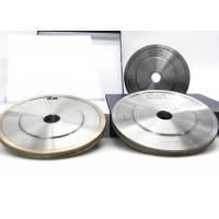Buy cheap Durable Metal Bond Grinding Wheels , Glass Edge Shaping Pencil Grinding Wheel from Wholesalers