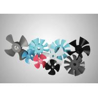 Injection Molding Part POM M90 Plastic Fan Blades Used in Motor / Pump