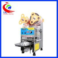Buy cheap Full Automatic Coffee Shop Equipment Bubble Tea Cup Sealing Machine from Wholesalers