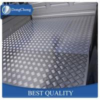 China Durable Aluminum Diamond Plate Sheets Anti - Rust Function For Refrigerator factory