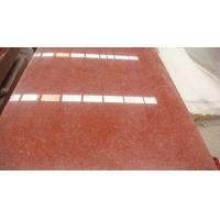 China Red Color Rough Granite Kitchen Countertop Floor Tiles 50x50 Slab 2.73 g/cm3 on sale
