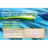 Buy cheap steel cord fabric 3×0.2+6×0.35HT used in Elevator Belt, enhance the lateral resistant from Wholesalers