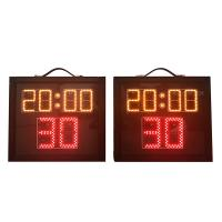 Buy cheap Indoor Aluminum Basketball Shot Clock , Multi Sport Scoreboard With Game Time from wholesalers