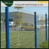 Buy cheap Many Colored Metal Wire Fence Panels Weather - Proof For Protection Zone from Wholesalers