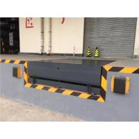 China Industrial Electric Hydraulic Dock Plate With 2 Pieces 250*250*100mm Bumper on sale