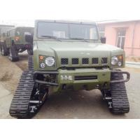 China Jeep / Truck Rubber Track System Small Size With 400mm Width Crawler factory
