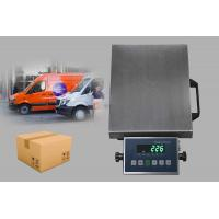 China Bright Green LED Display Bluetooth Electronic Steel Structure Platform Scale with RS232 Output factory