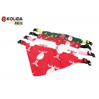 Buy cheap Saliva Towel Triangle Pet Collar Christmas Scarf XS S M L Size Long Service Life from Wholesalers