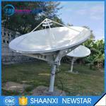 Buy cheap 2.4m(8feet) ku band Tx/Rx satellite antenna manual/motorized drive mode from Wholesalers