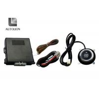 China Car Engine Auto Start Keyless Entry Systems With Push Start Button , 433.92MHz Frequency factory