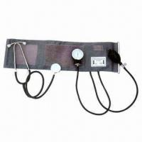 China Aneroid Sphygmomanometer with Optional Stethoscope, OEM Orders are Welcome factory