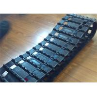 China Vehicle / Snowmobile Rubber Track Custom Length With Low Ground Pressure factory