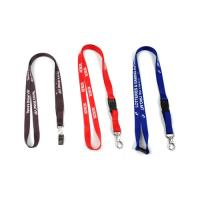 China Customized lanyard with hot transfering printing n metal accessories and low MOQ factory
