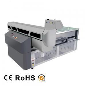 China Digital UV Flatbed Printing Machine , High Intellectualization Industrial UV Printer factory