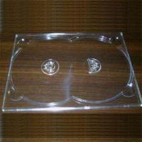 Buy cheap Double DVD digi tray for 2 Discs, in Colorless, Transparent Design from Wholesalers