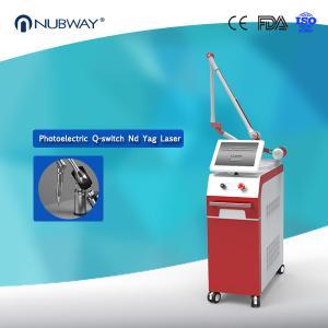Electro-optics Pigment Lesions Dual wavelength 1064nm 532nm Q Switch Nd Yag Laser Tattoo Removal Machine