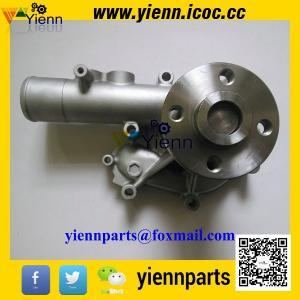 Buy cheap KOMATSU WB93R-2 backhoe loader engine parts Yanmar S4D106 4TNV106 4TNE106 Water Pump 123900-42000 123907-42000 from Wholesalers