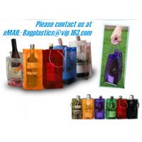China PVC Ice bag, Wine Beer Gift Bags, Wine Bag, drink ice bags, portable wine bags factory