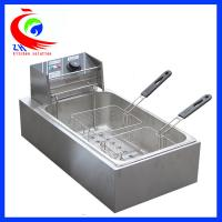 Buy cheap Stainless steel Table Top Commercial Electric Deep Fryer with 2 baskets 12L from Wholesalers
