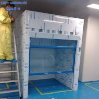 Buy cheap High-Level New Design Custom Made Floor Mounted Walk In Fume Hood With Microprocessor Control System from Wholesalers