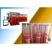 Buy cheap Data Center 90L Network Fm200 Fire Suppression System with Pipeline from Wholesalers
