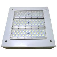 Buy cheap Laser Label Led Canopy Lighting 100-277vac 100w 150w 200w IP66 IK10 Surface Mounted Installation from Wholesalers