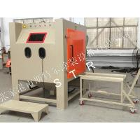 Buy cheap Plating Painting Spraying Automatic Sand Blasting Machine / Automated Sandblasting Equipment from Wholesalers