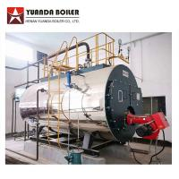 China Package Type Industrial Fire Tube Riello Burner Gas Steam Boiler 2000kg factory