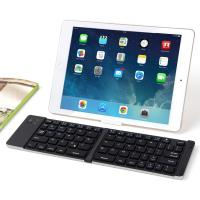 China Foldable Bluetooth Keyboard with Stand Holder for Compatible IOS Android Windows factory