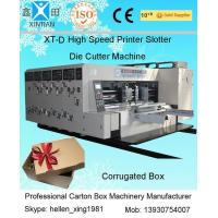 China Double Side Automatic Flexo Printer Slotter Die-Cutter Stacker Machine factory