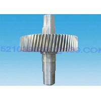 Buy cheap Heavy Duty Forging Steel Pinion Gear Shaft , Steel Transmission Gears And Shafts from Wholesalers