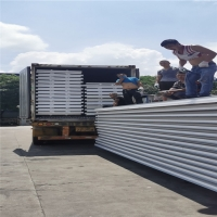 Buy cheap 1050 type 50mm eps sandwich construction panels with 14kg per cubic meter for from wholesalers