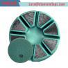 "Buy cheap 3"" inch 10 segment round shape diamond metal bond plugs from wholesalers"
